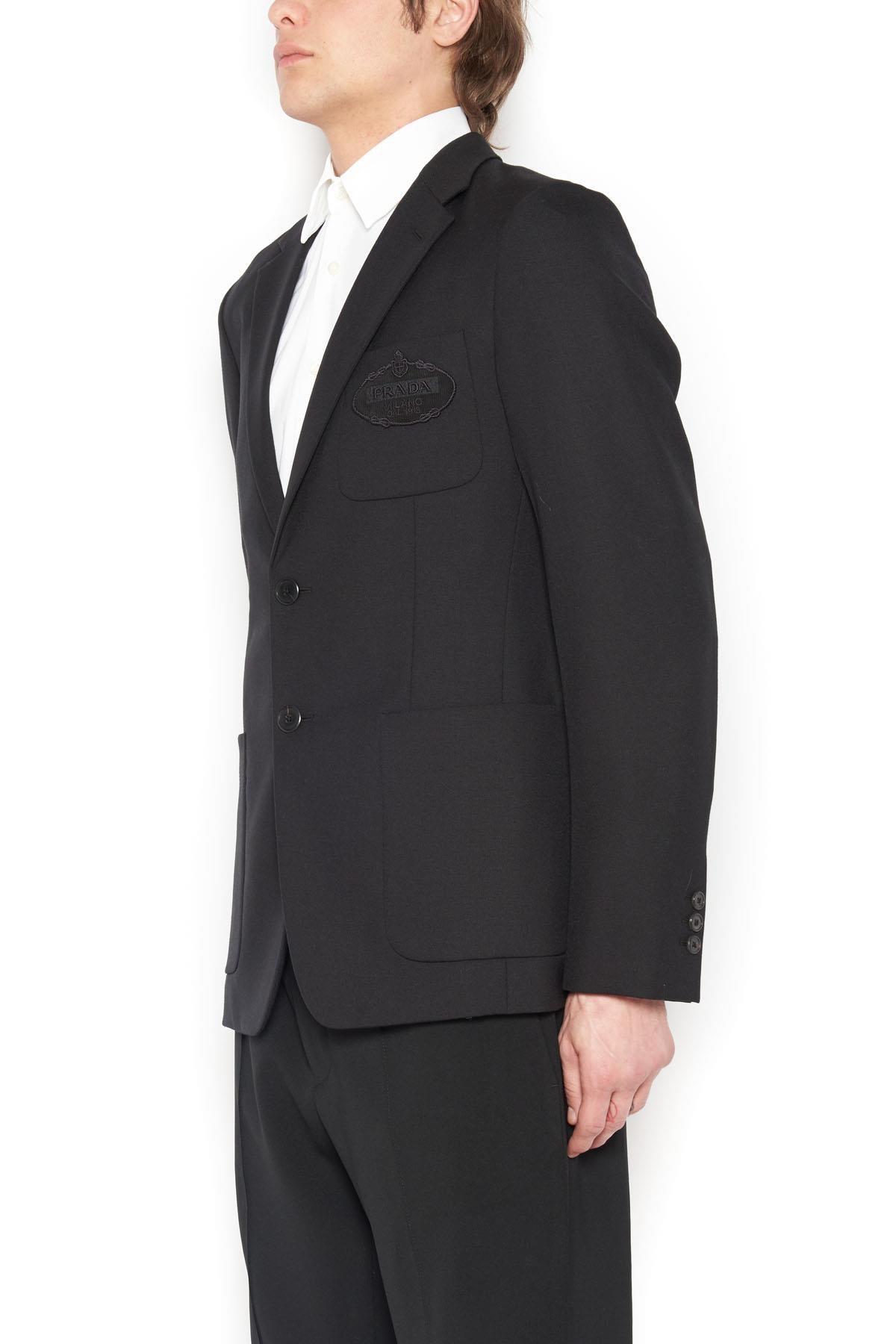 new style 610c6 34a0c prada giacca destrutturata su www.julian-fashion.com - 48565 ...