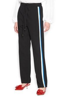 N°21 sides tape pants
