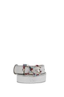 DOLCE & GABBANA jewel logo belt
