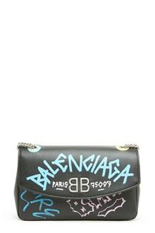 BALENCIAGA 'bb round' shoulder bag