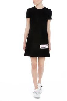 PRADA patch dress