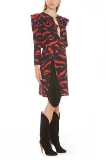 GIVENCHY 'scibble tiger' dress