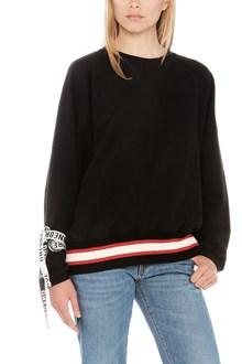 ONEDRESS ONELOVE logo tape sweatshirt