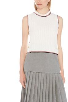 THOM BROWNE rwb stripe vest