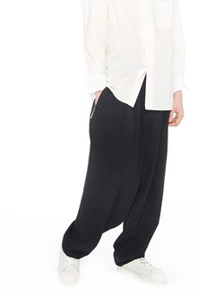 YOHJI YAMAMOTO pantalone vita elasticizzata