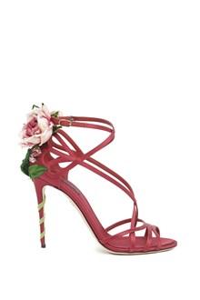 DOLCE & GABBANA roses details sandals