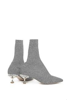 MIU MIU swarowsky socks boots