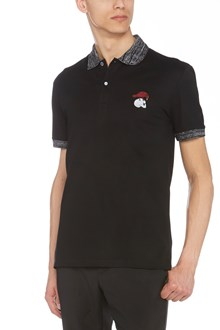 ALEXANDER MCQUEEN embroidered polo