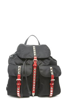PRADA studded backpack