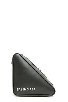 BALENCIAGA 'chain triangle' crossbody bag