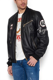 DOLCE & GABBANA patches bomber jacket