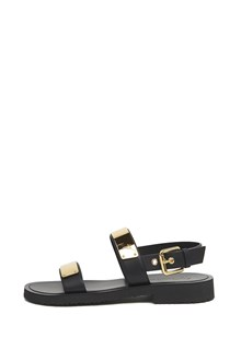 GIUSEPPE ZANOTTI gold plate sandals