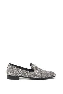 GIUSEPPE ZANOTTI glittered loafers
