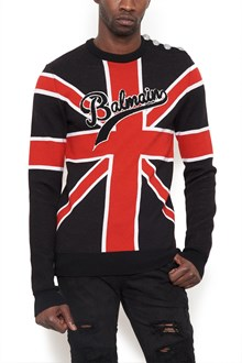 BALMAIN 'uninion jack' sweater