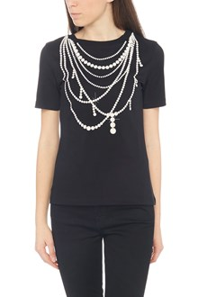 BOUTIQUE MOSCHINO printed pearl t-shirt