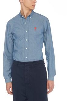 AMI ALEXANDRE MATTIUSSI logo shirt