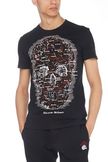 ALEXANDER MCQUEEN t-shirt teschio
