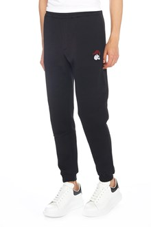 ALEXANDER MCQUEEN skull patch sweatpants