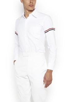 THOM BROWNE stripes on sleeves shirt