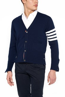 THOM BROWNE cardigan Righe bianche
