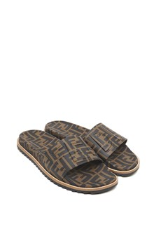 FENDI all over logo slides