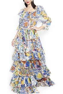 DOLCE & GABBANA majolica dress