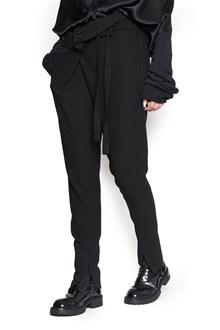 ANN DEMEULEMEESTER belt pants