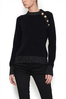 BALMAIN gold buttons sweater