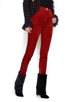 BALMAIN velvet pants