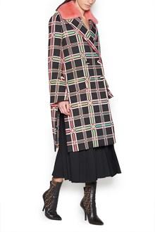 FENDI madras coat