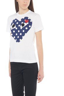 COMME DES GARÇONS PLAY t-shirt 'polka dot big heart'