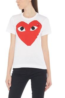 COMME DES GARÇONS PLAY 'red heart' t-shirt