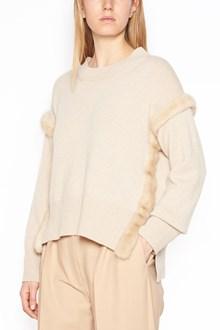 AGNONA mink fur sweater