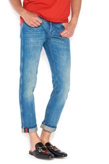 GUCCI web jeans
