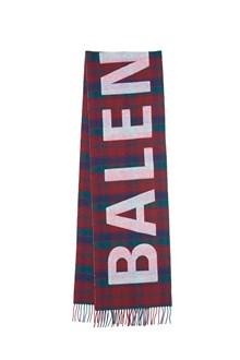 BALENCIAGA logo scarf