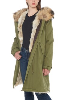 MR & MRS ITALY coyote fur parka