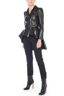 ALEXANDER MCQUEEN peplum leather jacket