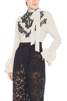 VALENTINO polka dots blouse