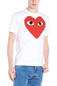 COMME DES GARÇONS PLAY 'red big heart' t-shirt