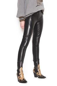 ALBERTA FERRETTI leather pants