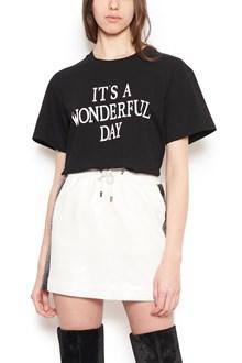 ALBERTA FERRETTI 'it's a wonderful day' t-shirt