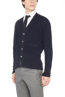 THOM BROWNE 'baby cable' cardigan