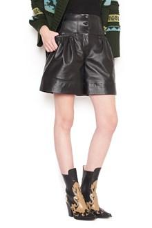 ALBERTA FERRETTI leather shorts