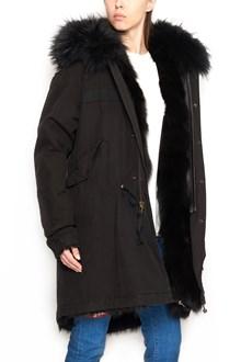 MR & MRS ITALY fox fur parka