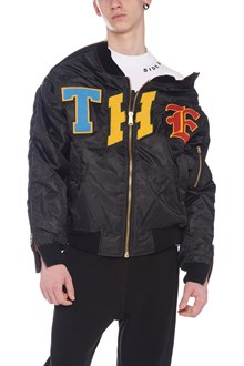 THE INCORPORATED patch bomber jacket