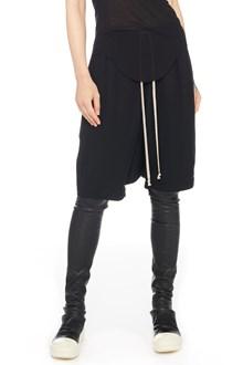 RICK OWENS 'pod' shorts