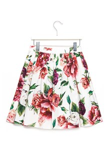 DOLCE & GABBANA peony skirt