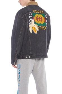GUCCI patch denim jacket