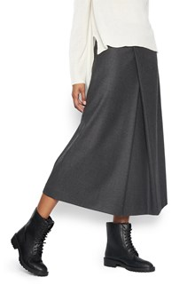 THEORY 'fluid fold' skirt