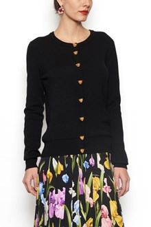 DOLCE & GABBANA leopard buttons cardigan